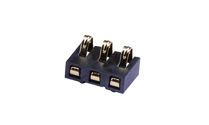 FBA25001  电池座 2.5mm 立贴