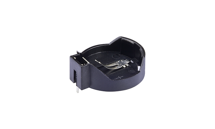 FBA25014  纽扣电池座(穿孔式)