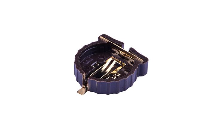 FBA75002  纽扣电池座(表面贴装)
