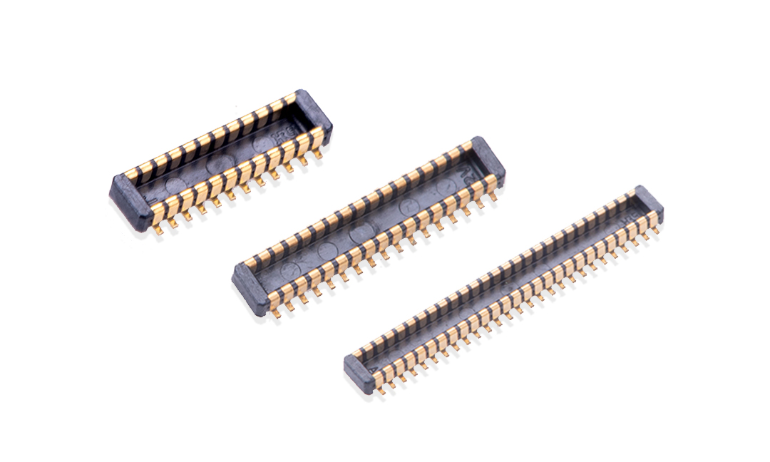 FBB04005-M 板到板连接器 0.4mm 立贴 公座(组合高度0.8mm)