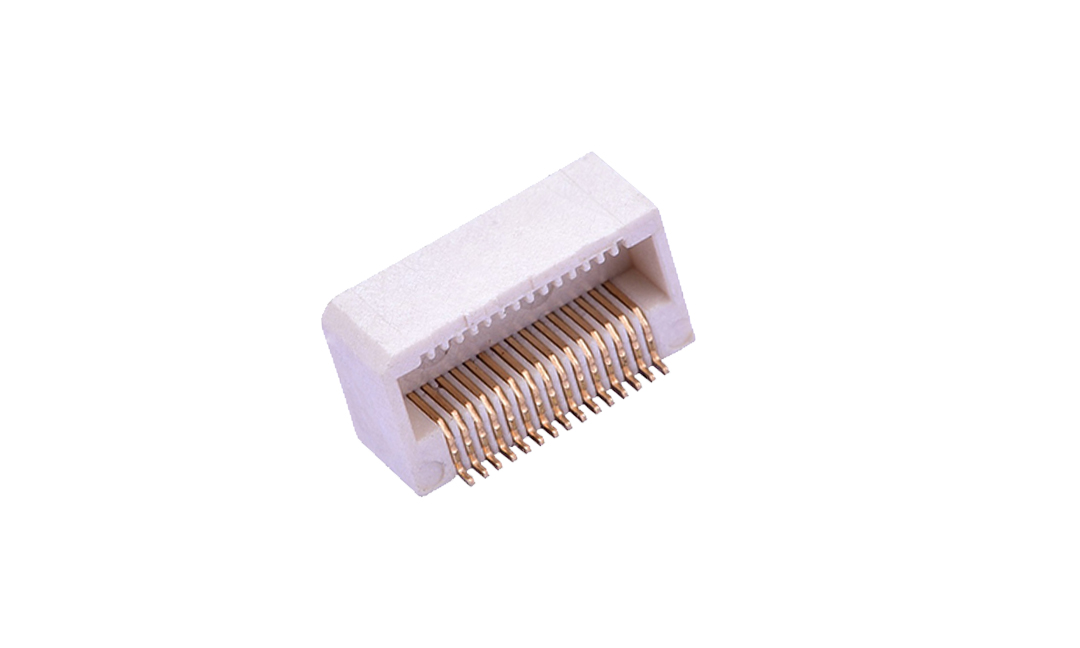 FBB05006-F 板到板连接器 0.5mm 卧贴 母座(组合高度5mm)