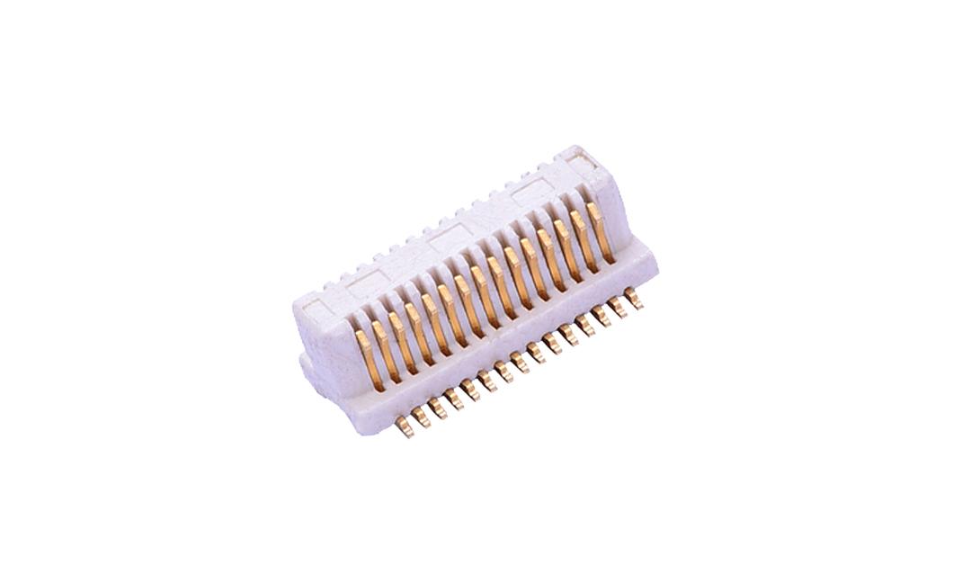 FBB05006-M 板到板连接器 0.5mm 立贴 公座(组合高度2.5mm)