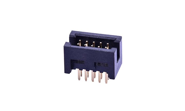 FBH12701 簡牛連接器 1.27mm 180°插件(9T)