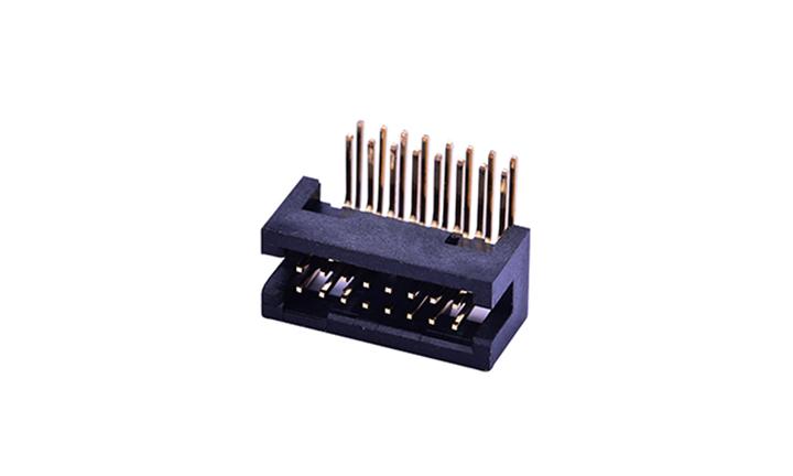 FBH12702 簡牛連接器 1.27mm 90°插件 (9T)