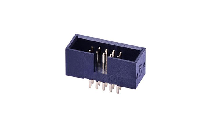 FBH12704 簡牛連接器 1.27mm  180°插件 (9T)