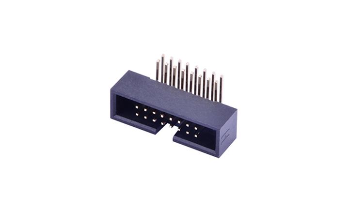 FBH12711 簡牛連接器 1.27mm 90°插件(PA9T)