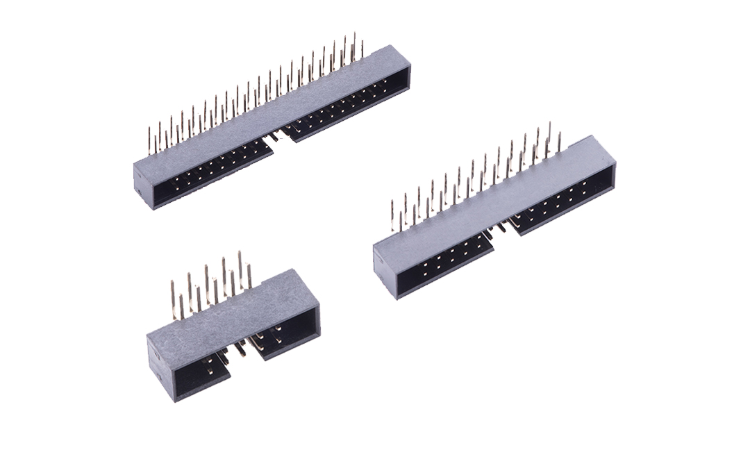 FBH20002 简牛连接器 2mm 90°插件
