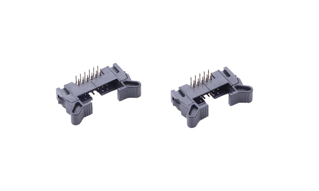 FBH20005 勾勾牛角  2mm 90°插件(短耳)