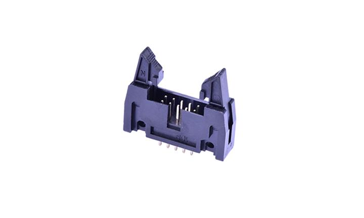 FBH25413 勾勾牛角 2.54mm 180°插件(短耳)