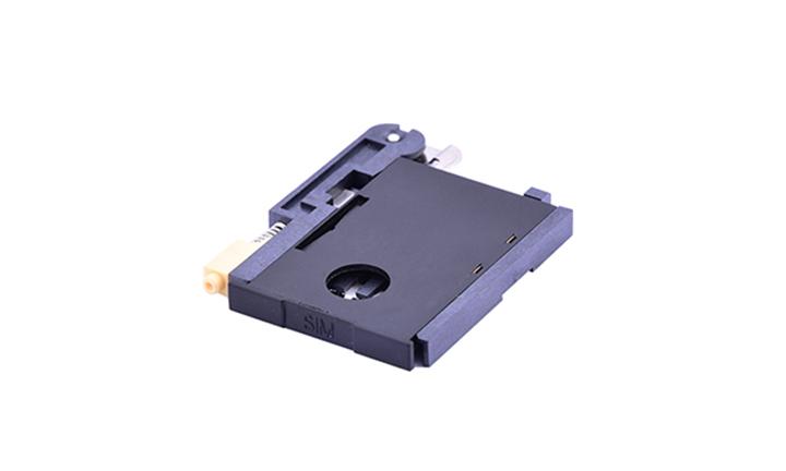 FCD515 Mini SIM卡连接器 8触点(H3.0mm)(推拉式)(二组件)