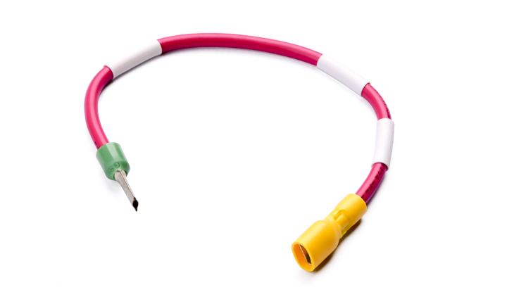 单芯电缆组件:250型 公 对 管形终端  L=200MM