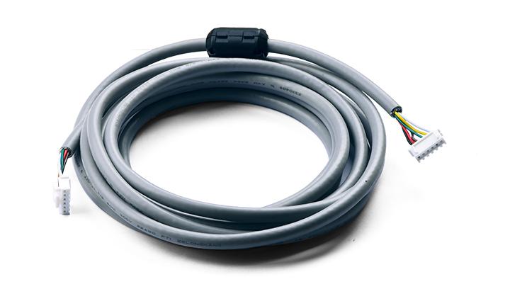 多芯电缆组件 :2.5MM 间距 6 位无扣 对  2.5MM 间距 6 位有扣  L=3000MM