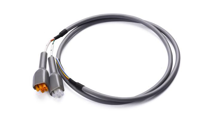 多芯电缆组件:4.2MM间距 4位 对 开端沾锡  L=900MM
