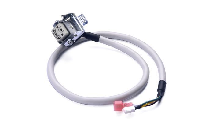 连接线:重载连接器 6PIN 母头 对187型公片 L=650mm