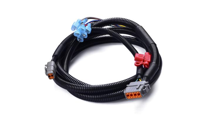 重载连接线:DTM06-12S(德驰) 对 250型公端(T0.8)/DTM06-4S(德驰),线长2000mm