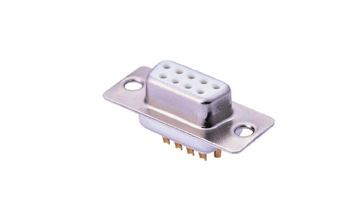 FDM0903 车针D-SUB 双排 焊线式 9位