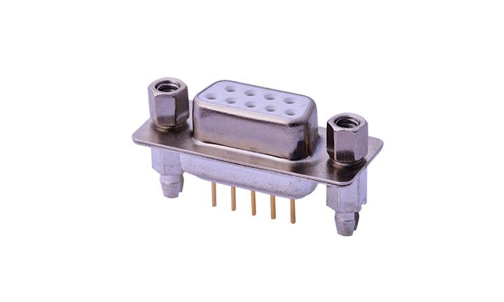 FDM0904 车针D-SUB 180°插件 双排 9位