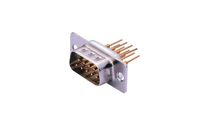 FDM0908 车针D-SUB 180°插件 双排 9位