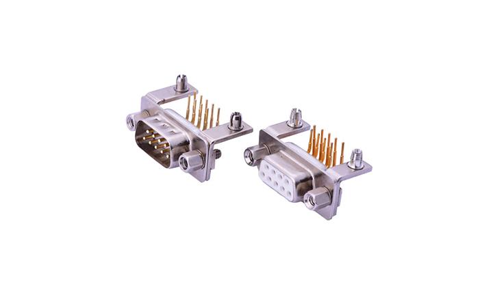 FDM0909 车针D-SUB 90°插件 双排 9位