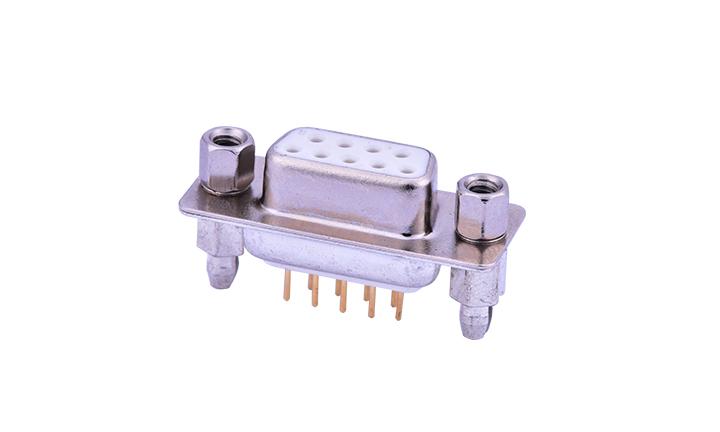FDM0921 车针D-SUB 180°插件 母座 双排 9位