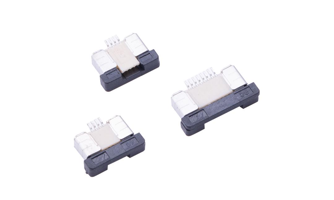 FFC05001 FPC/FFC连接器 0.5mm 卧贴上/下触点(H2.0)(抽锁)