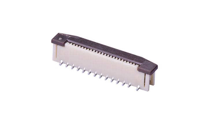 FFC05009 FPC/FFC连接器 0.5mm 立贴