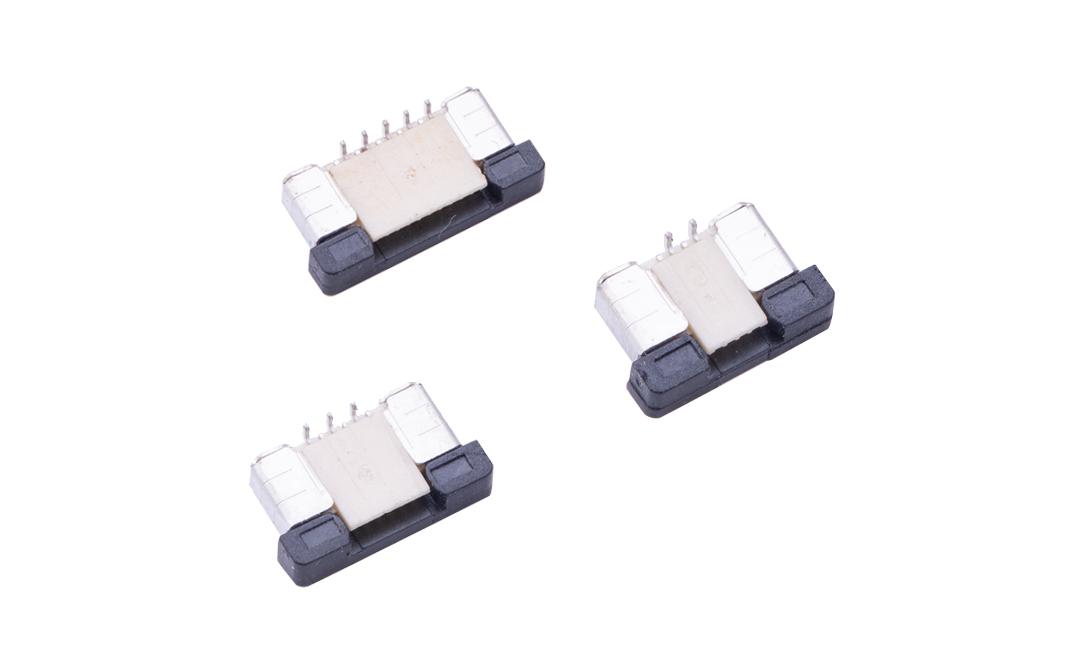 FFC05012 FPC/FFC连接器 0.5mm 立贴