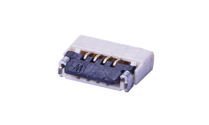 FFC05013 FPC/FFC连接器 0.5mm 卧贴下触点(H1.0)(掀锁)