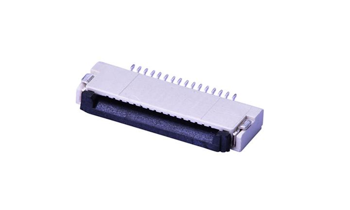 FFC05020 FPC/FFC连接器 0.5mm 卧贴下触点(H1.5)(掀锁)