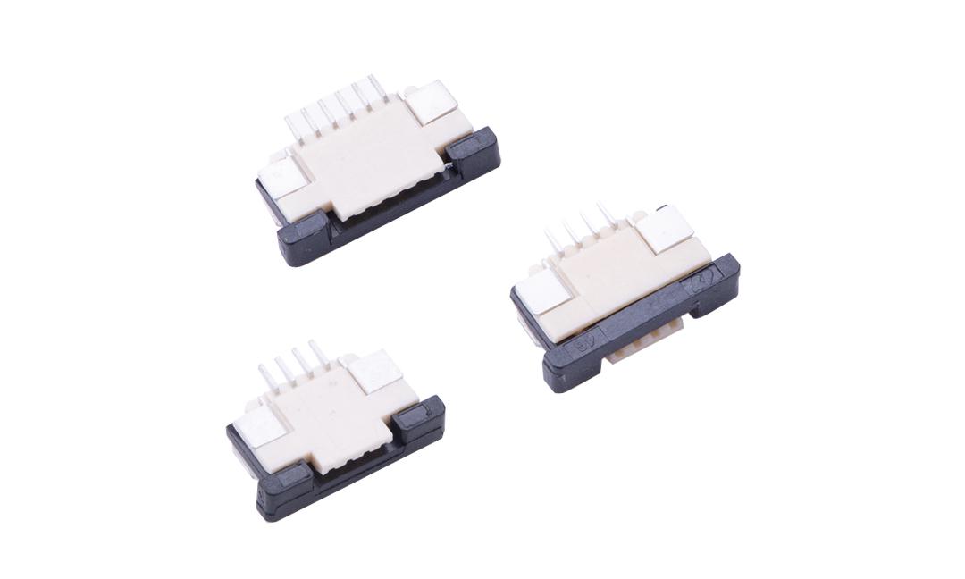 FFC10001 FPC/FFC连接器 1.0mm 卧贴上/下触点(H2.7)(抽锁)
