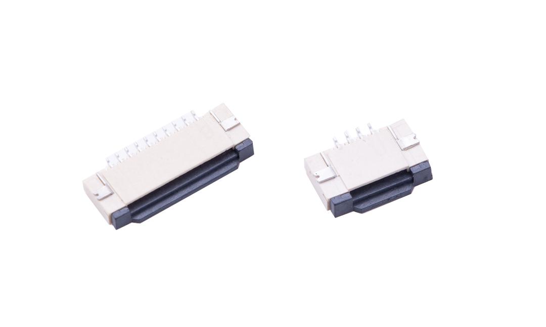 FFC10032 FPC/FFC連接器 1.0mm 臥貼下觸點(H2.13)(掀鎖)
