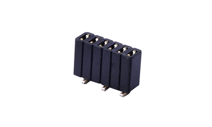 FFH12710 排母 1.27mm 立贴 单排 (H4.6mm)