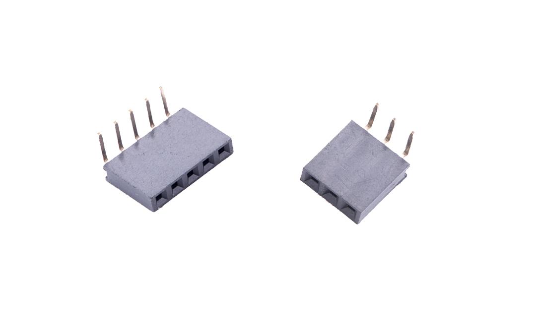 FFH25406 排母 2.54mm 90°插件