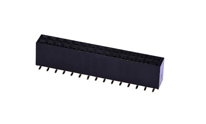 FFH25408 排母 2.54mm 立贴 双排(H8.75mm)