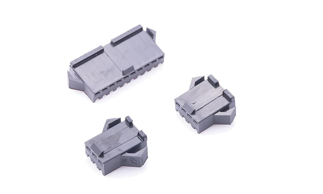 FHG25010 线端插头胶壳 2.5mm (黑色)