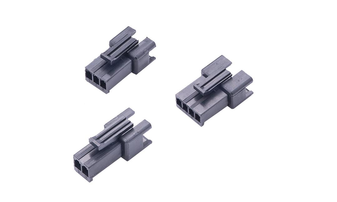 FHG25011 线端插头胶壳 2.5mm(黑色)