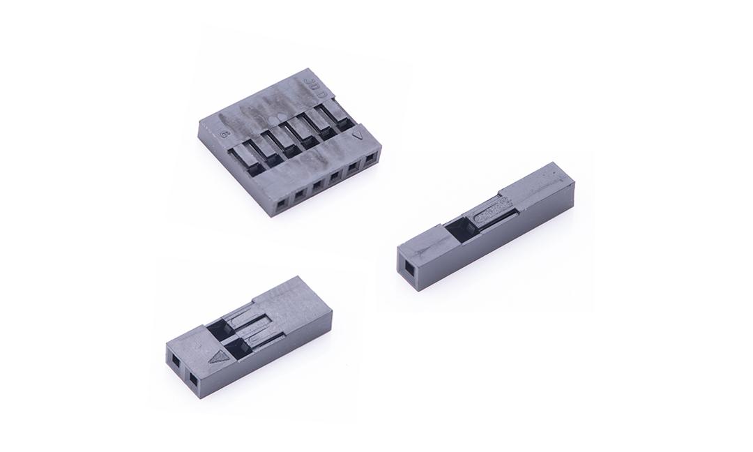 FHG25403 线端插头胶壳 2.54mm (黑色)