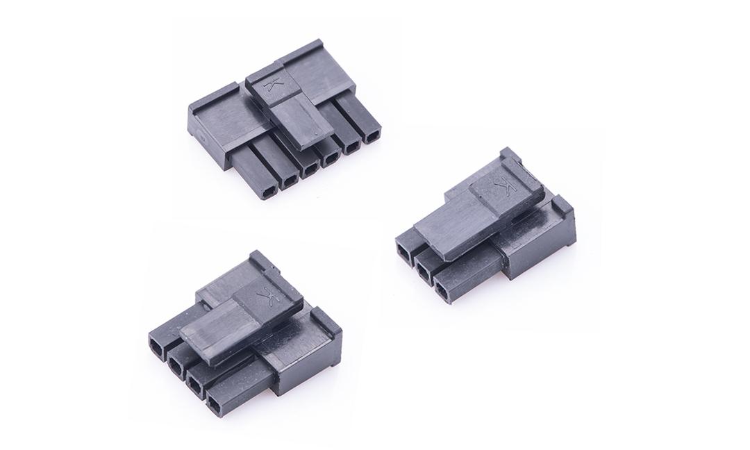 FHG30002 线端插头胶壳 3mm