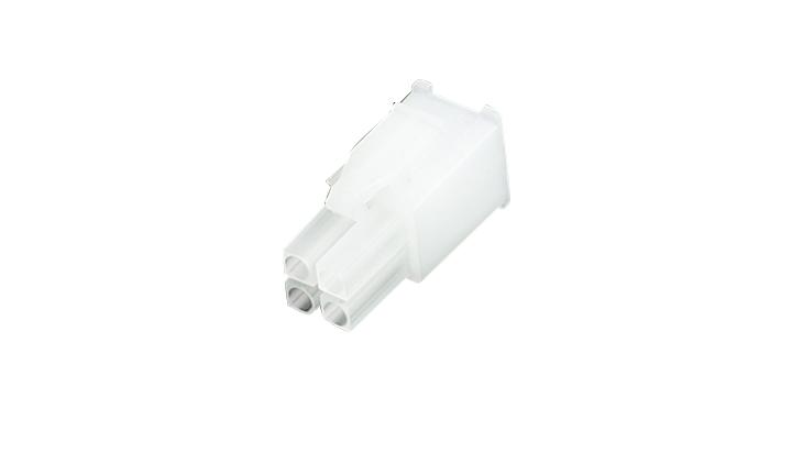 FHG41402 线端插头胶壳 4.14mm (带锁扣)