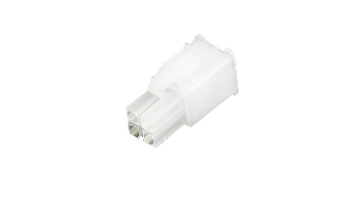 FHG41403 线端胶壳 4.14mm (带锁扣)