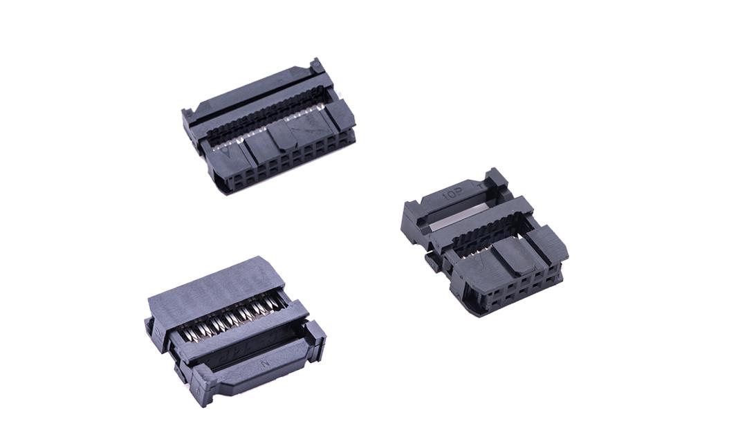 FID25402 IDC 2.54mm (三组件)(触点镀金)