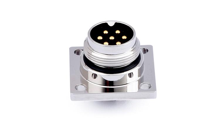FM16-07MS002-0201 M16 防水圆形连接器7位,插座