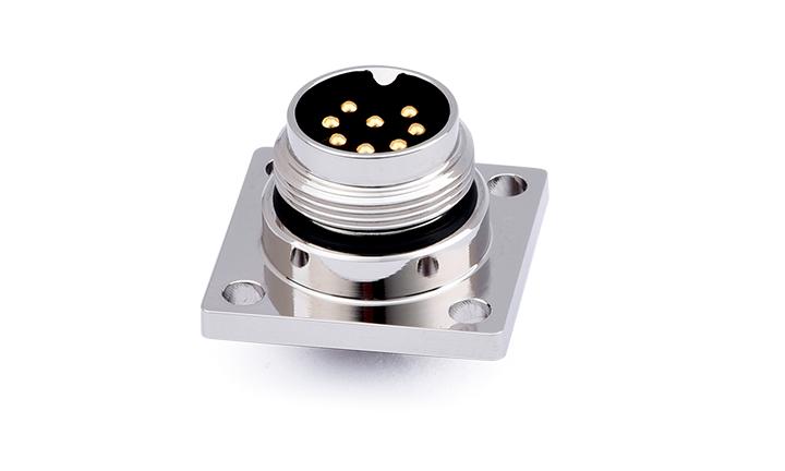 FM16-08MS002-0201 M16 防水圆形连接器8位,插座