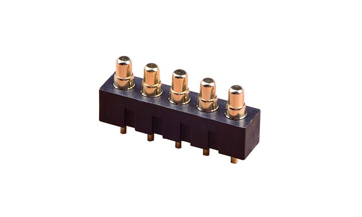 FPG40004  頂針式電池座 180°插件