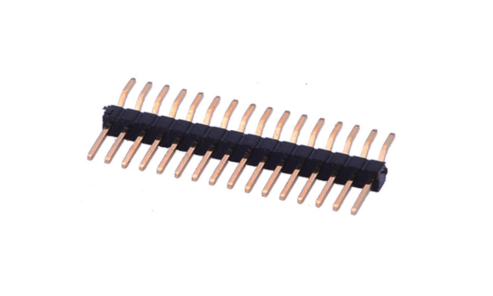 FPH10003 排针 1mm  卧贴 单排