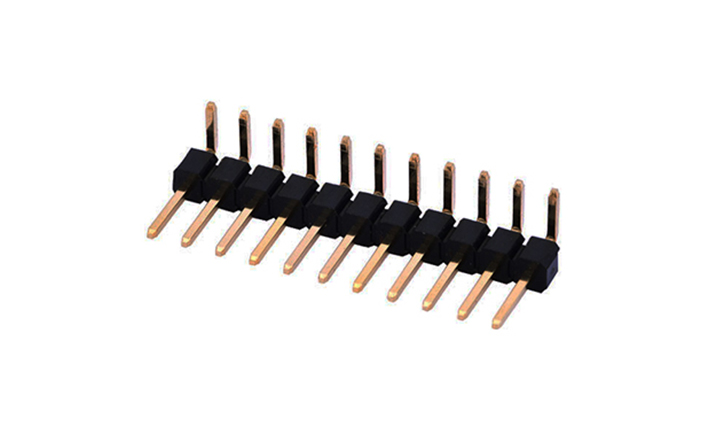 FPH25402 排针 2.54mm 90°插件 单排