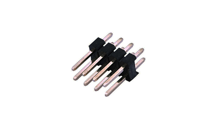 FPH25421 排针 2.54mm 180°插件 双排