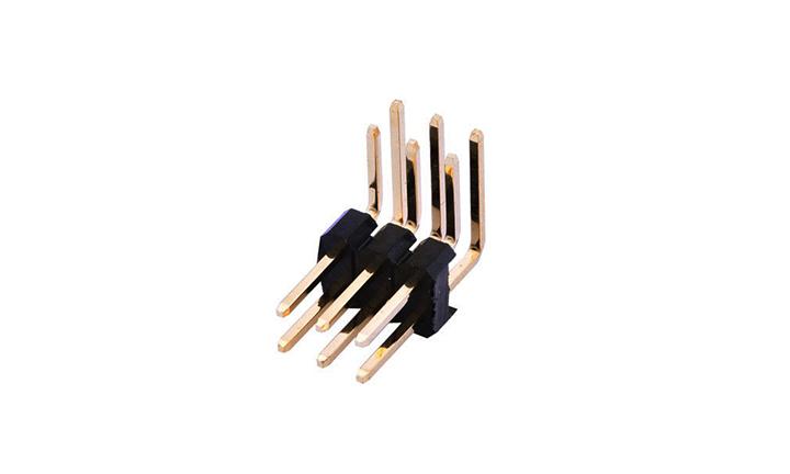 FPH25422 排针 2.54mm 90°插件 双排