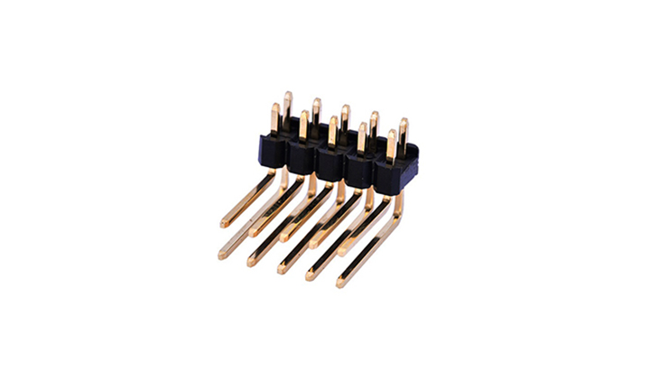 FPH25423 排针2.54mm 90°插件 双排(反弯)