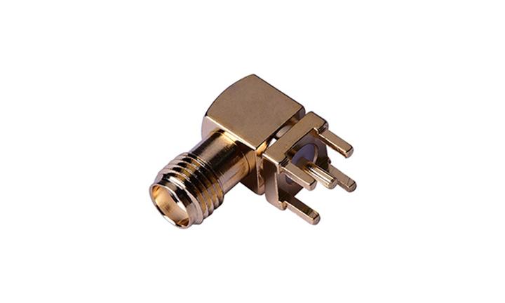 FRF01013 RF SMA 90°插座(穿孔式)